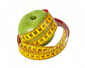 Measuring Tape and Apple - PhotoDune Item for Sale