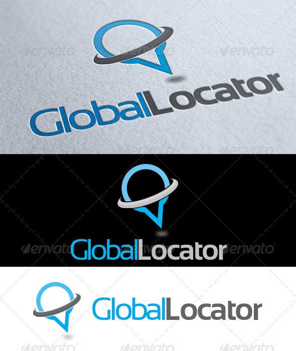 GraphicRiver Global Locator Logo 3552429