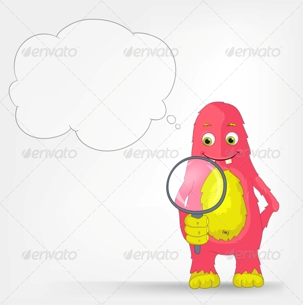 GraphicRiver Funny Monster Search 3552435