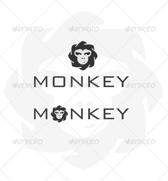 GraphicRiver Monkey Logo 3552502