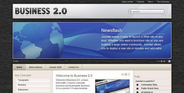ThemeForest Business 2.0 16552