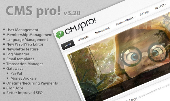 CodeCanyon CMS pro Lightweight Content Management System 140078