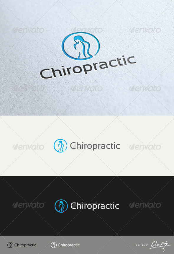 GraphicRiver Chiropractic Logo 3553264
