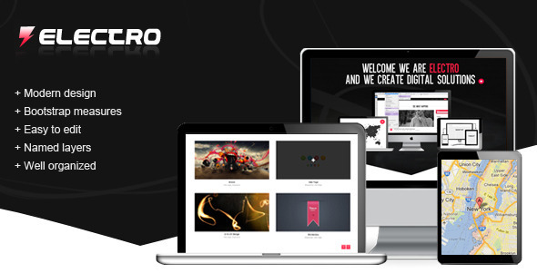 ThemeForest Electro PSD Template 3553345