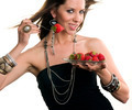 Woman eats RAW fruit - PhotoDune Item for Sale