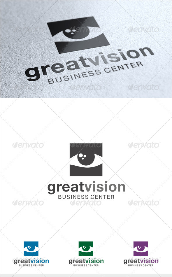 Great Vision Logo - Symbols Logo Templates