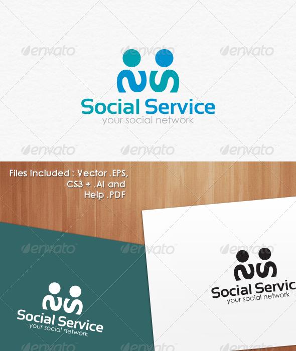 GraphicRiver Social Service Logo Templates 3544640