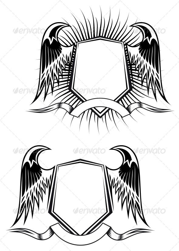GraphicRiver Heraldic Elements 3554508