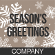 Company Holiday Greeting Card / Postcard - GraphicRiver Item for Sale