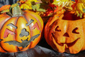 Halloween Jack O'Lantern Pumpkins - PhotoDune Item for Sale