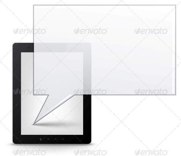 GraphicRiver Tablet PC Vector EPS 10 3554868