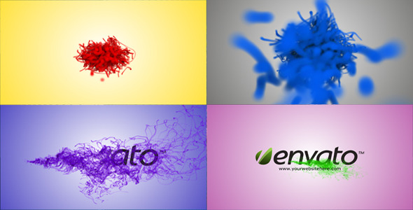 VideoHive Ink Logo Reveal 3532620