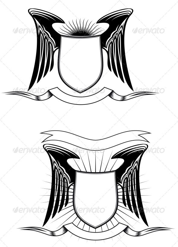GraphicRiver Heraldic Elements 3555287