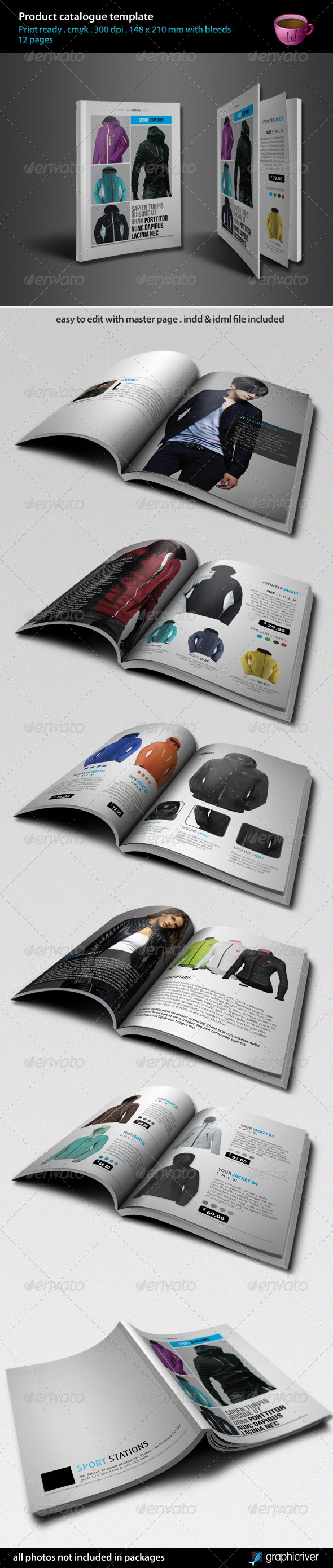 GraphicRiver Product Catalogue Template 3555778