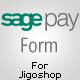 SagePay Formulario de puerta de enlace para JigoShop