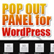 Pop Out Panel for WordPress