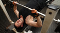 training strength barbell gym