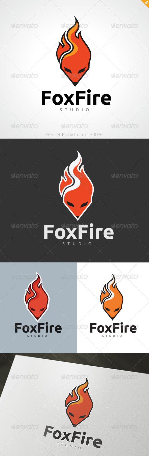 GraphicRiver Foxfire Logo 3557184