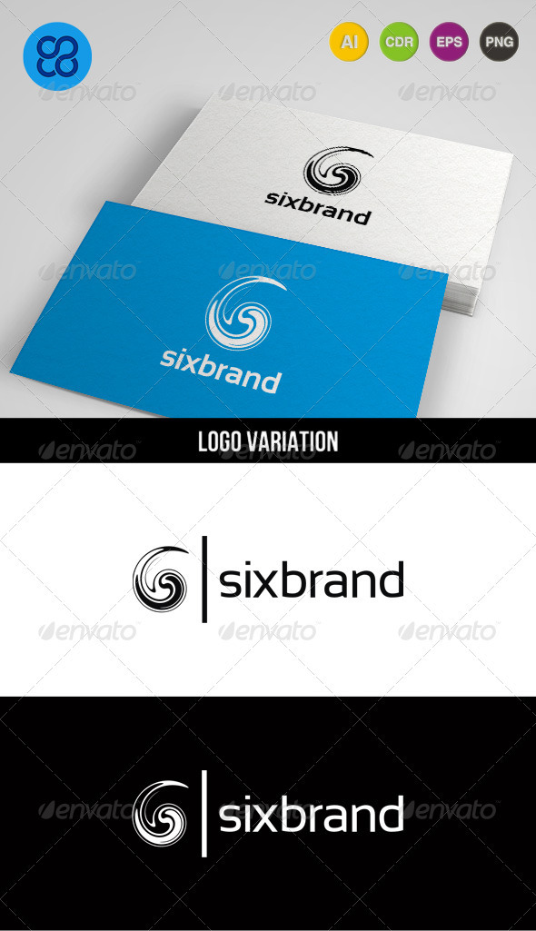 Sixbrand - Numbers Logo Templates