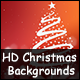 16 HD Christmas Backgrounds on Different Colors - GraphicRiver Item for Sale