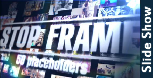 VideoHive Stop Frame Slide Show 3559567