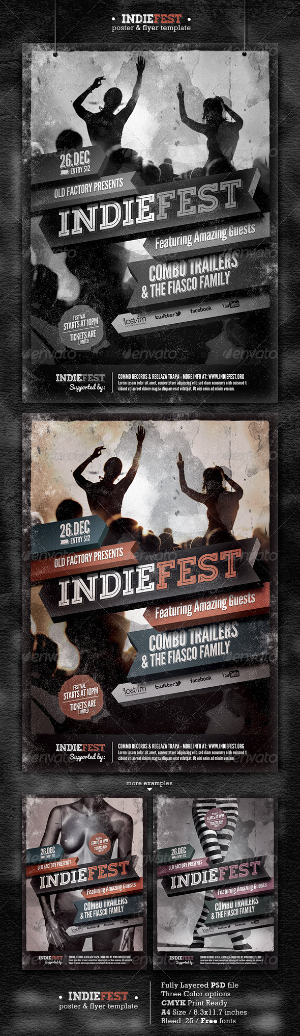 GraphicRiver Indie Flyer Poster 3560097