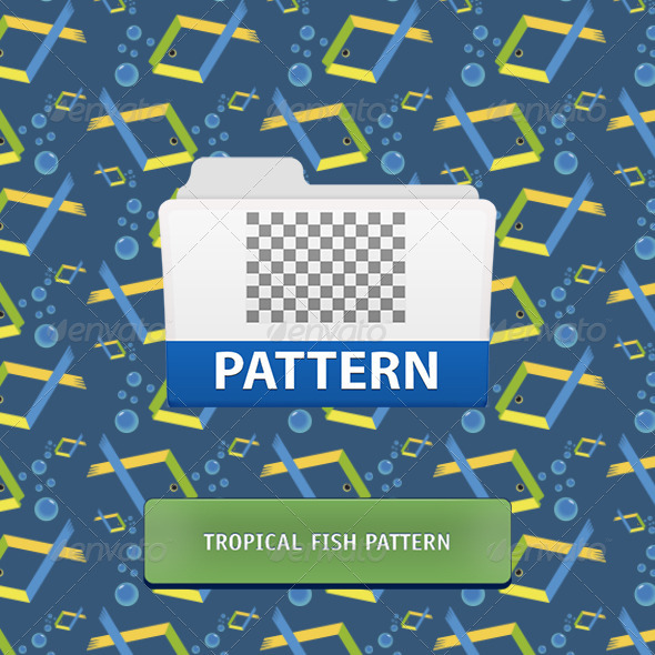 GraphicRiver Tropical Fish Seamless Pattern 3560264