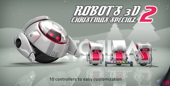 Robots 3D Christmas Special II