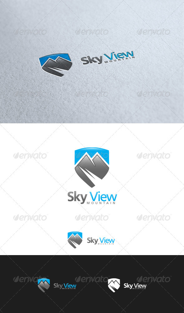 GraphicRiver Sky View Mountain 3560840
