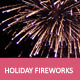 Holiday Fireworks With Music - VideoHive Item for Sale