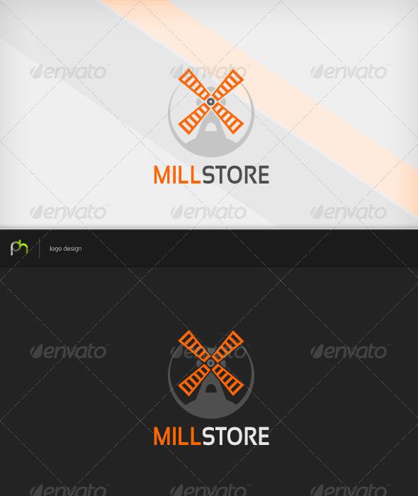 GraphicRiver Millstore Logo 3560842