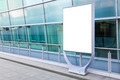 Blank billboard in city - PhotoDune Item for Sale