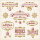 Vintage Christmas Labels - GraphicRiver Item for Sale