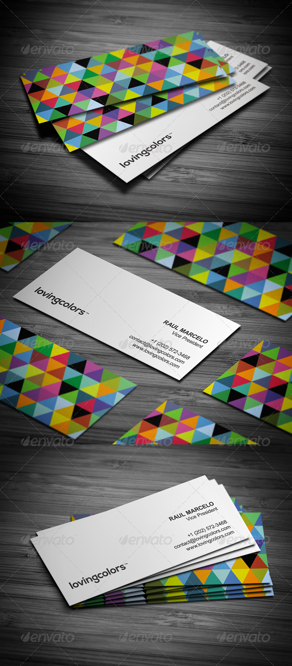 GraphicRiver Creative Slim Business Card 3562076