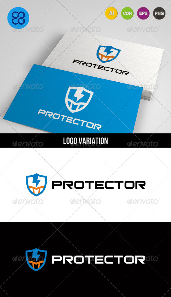 Protector - Crests Logo Templates