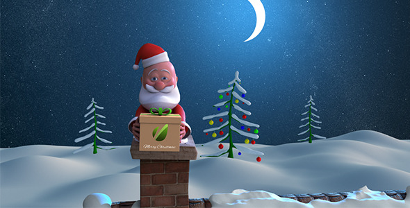 Awesome animated christmas videos backgrounds entheos christmas santa m4hsunfo