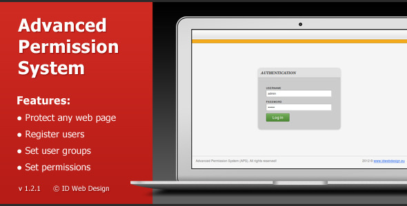 CodeCanyon Advanced Permission System 1947855
