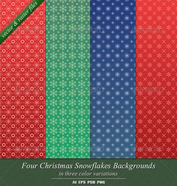 GraphicRiver Christmas Backgrounds 3563096