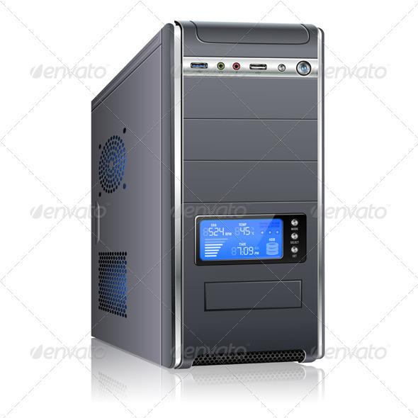 GraphicRiver Modern Computer Case 3563461