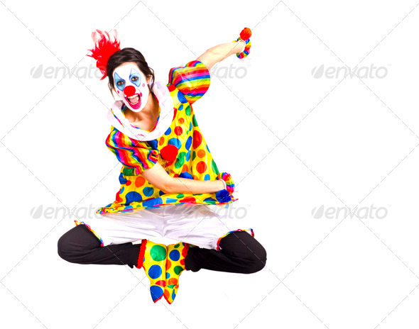 Color Clown - Stock Photo - Images