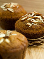 tasty muffins with almonds crust - PhotoDune Item for Sale