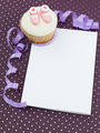 muffin newborn invitation - PhotoDune Item for Sale