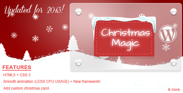 CodeCanyon Christmas Magic AA-Snow Wordpress Plugin 866564