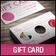 Creative Elegant Gift Card Template - GraphicRiver Item for Sale