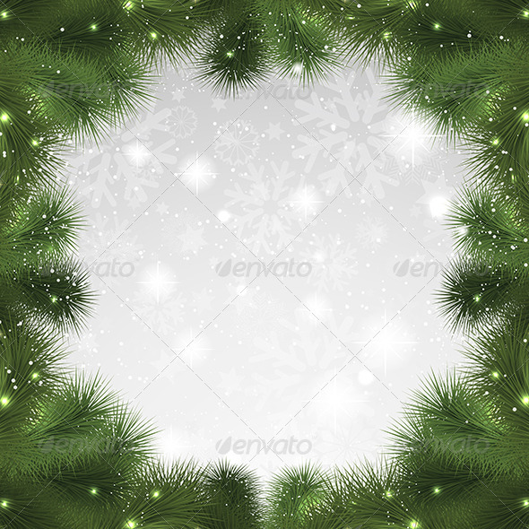 GraphicRiver Christmas Background 3564714