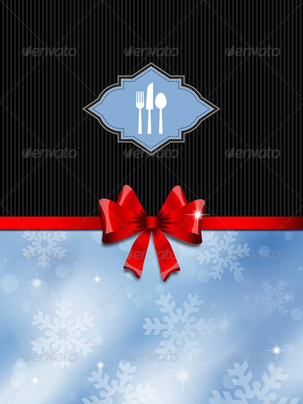 GraphicRiver Christmas Menu Design 3564735