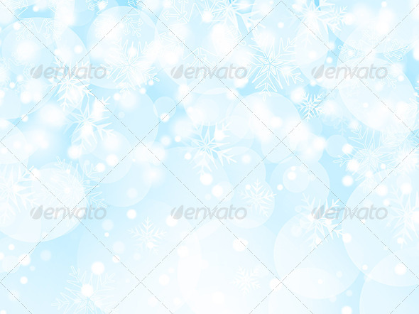 GraphicRiver Snowflake Background 3564896