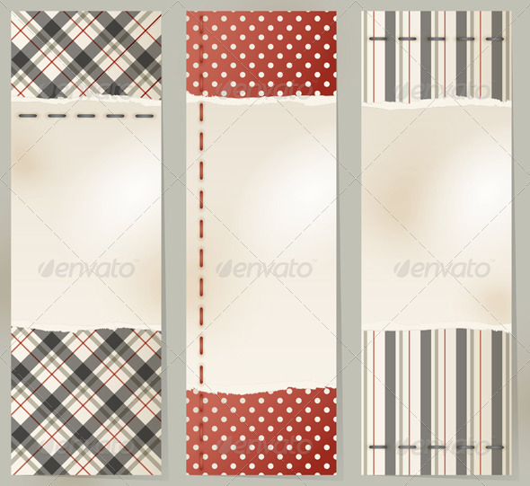 GraphicRiver Vintage Banners 3546967