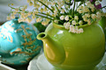 Springflowers in a teapot - PhotoDune Item for Sale