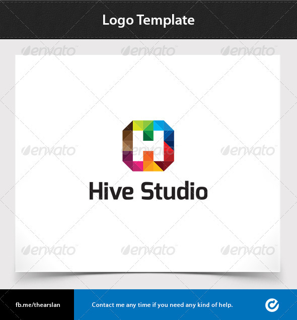 GraphicRiver Hive Studio Logo Template 3565408